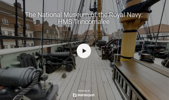 Virtual Spaces Sample 4 - The National Museum of the Royal Navy: HMS Trincomalee