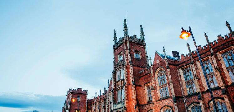 Lanyon Building at Queen's University Belfast