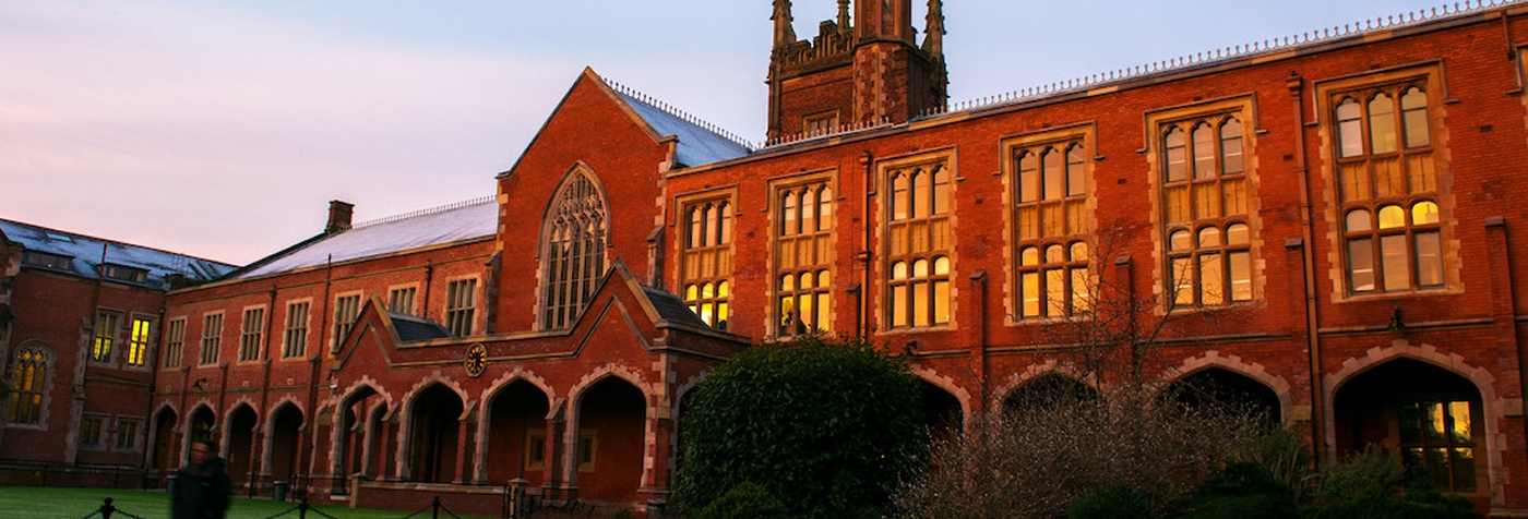 A view of the Lanyon from the Quad, Queen's University Belfast