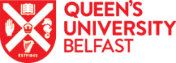 QUB Crest and Text